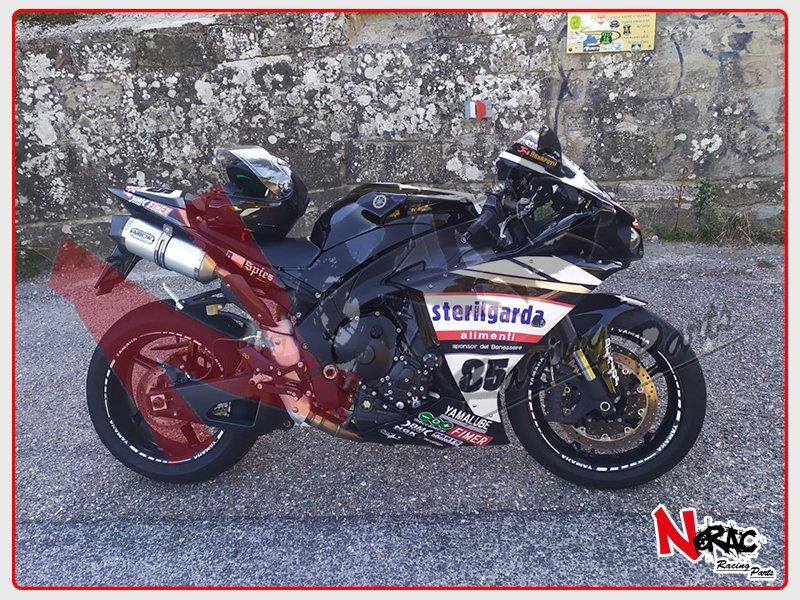 Kit Carena ABS Completa Verniciata Yamaha YZF-R1 2009-2011 Replica Sterilgarda